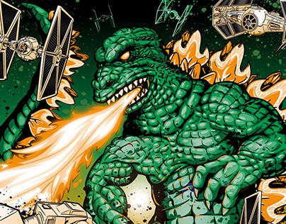 Godzilla Vs.The Empire