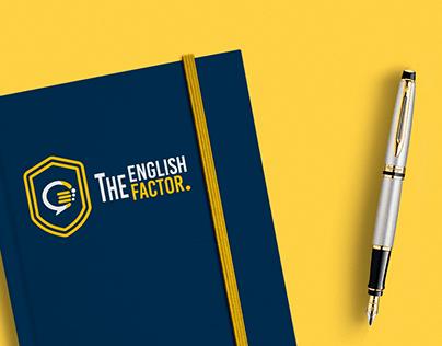The English Factor Identidad visual