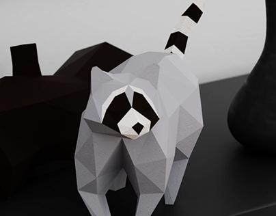 Papercraft design for DT Workshop