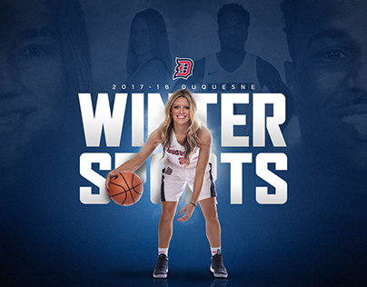 2017-18 Duquesne Winter Sports