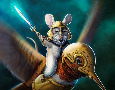 Mice warrior