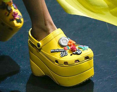 Balenciaga Platform Crocs Sold Out