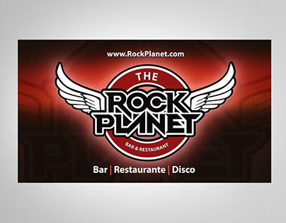 ROCK PLANET - Disco, Bar & Restaurant / Brand