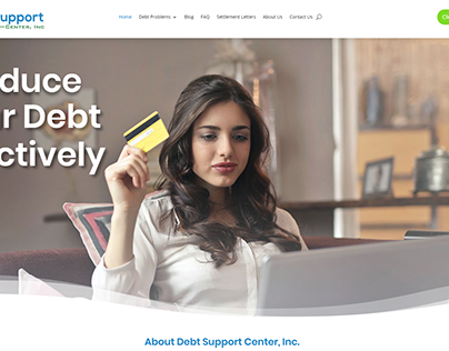 Debt Support Center - Website
