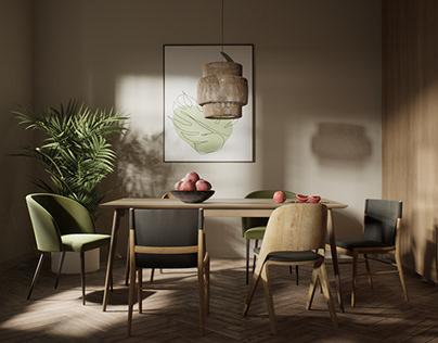 Kitchen interior in Unreal Engine 4