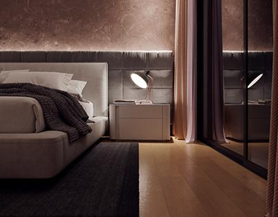 Cenário Interior Modo Noite