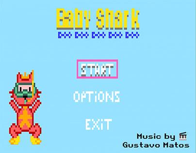 Baby Shark Game 16 Bits