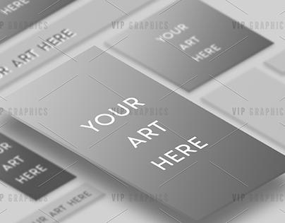 Ad Showcase Mockup - Portfolio PSD Template