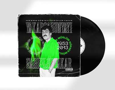 Müslüm Gürses Vinyl Record Cover Redesign Vol.1