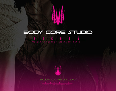 identidad Visual Body Core Studio