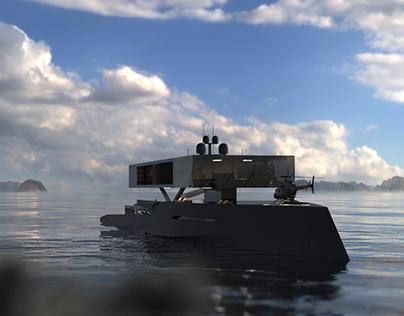Antithesis, the anti-yacht