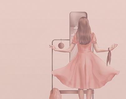 Mobilier, le miroir
