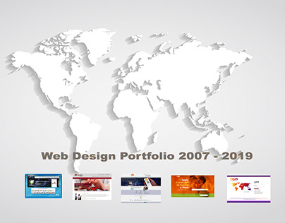 "Web Portfolio 2019 ""Motion Design"""