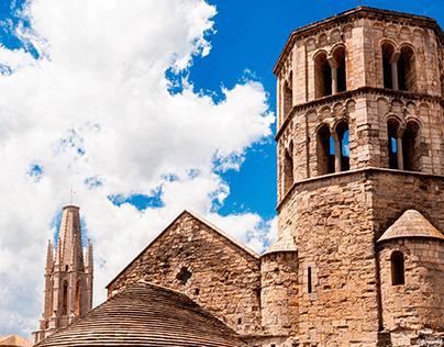 The monastery of Sant Pere de Galligants