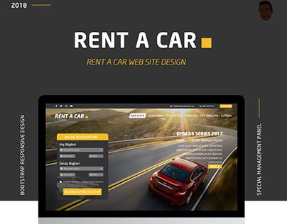 VIP RENT CAR Web Site Design