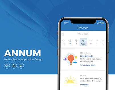 Annum Health: Mobile App