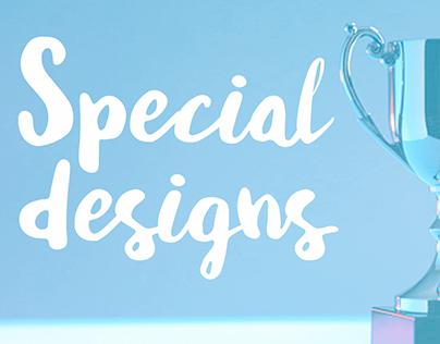 Special designs. Primagas y Peugeot.
