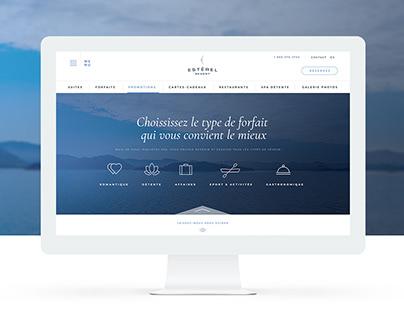 Estérel | Website