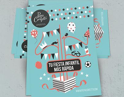Pepa Confetti, Flayers
