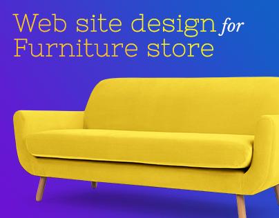 Design for Online Furniture Store