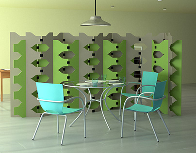 Teta modular room dividers