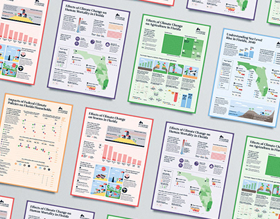 The Florida Climate Outlook / Infographic Design