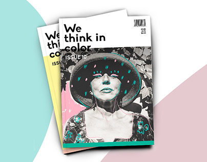 We Think in Color zine - Editorial workshop with Rifle