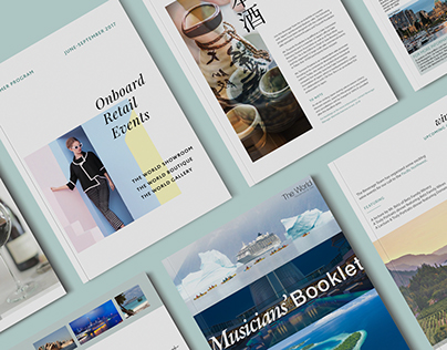 Corporate Publications for Luxury Travel