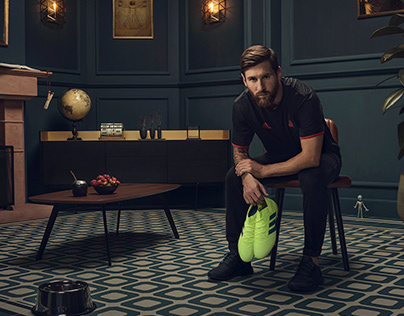 Leo Messi / ADIDAS / Soccer Bible