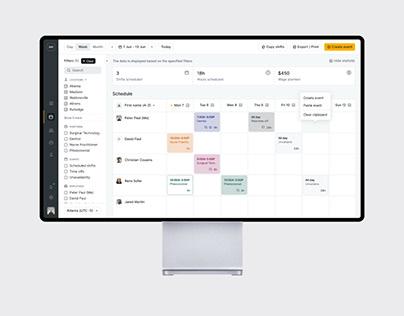 Employee Scheduling | Web App