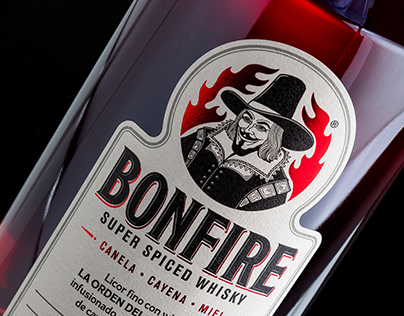 BONFIRE SUPER SPICED WHISKY