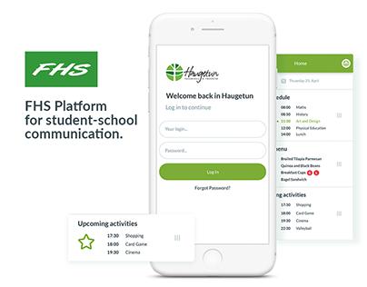 FHS Platform for student-school communication