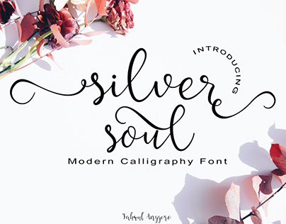 Silver Soul - Modern Calligraphy Font
