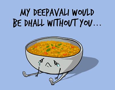 Deepavali Food Greetings