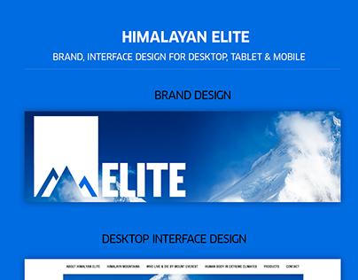 Himalayan Elite - Brand & UI