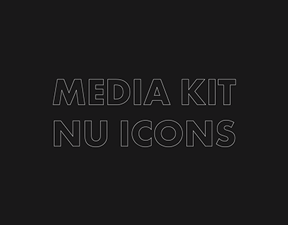 NU ICONS: Redesign of Media Kit