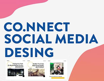 CO.NNECT Social Media Design