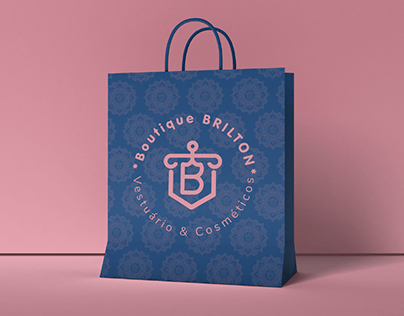 Boutique Brilton - Identidade Visual - Kiativa