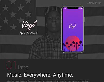 Mobile Application For Music