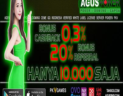 AGUSPOKER: Situs Judi Poker QQ Domino 99 BandarQ Online