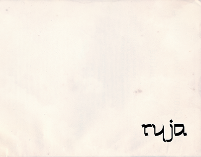 Typographic font - Arabic