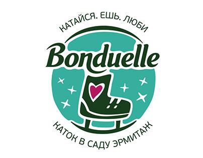 BONDUELLE | Фирменный стиль | Оформление катка