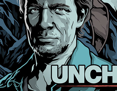 Uncharted 4 Steelbook cover illustration