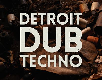 Detroit Dub Techno (video, cover art)
