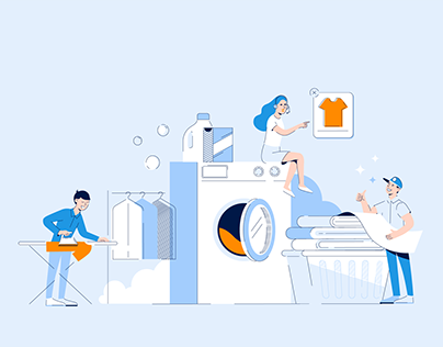DryClean NYC | illustration & animation