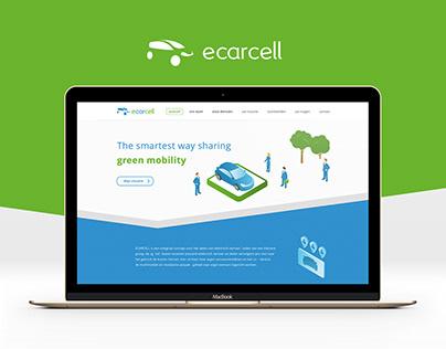 ECarCell - Brand & Web design