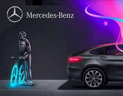 Mercedes Benz - Me Connect - illustrations