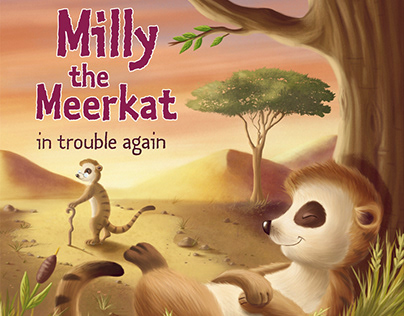 Milly The Meerkat in Trouble Again -Top That Publishing
