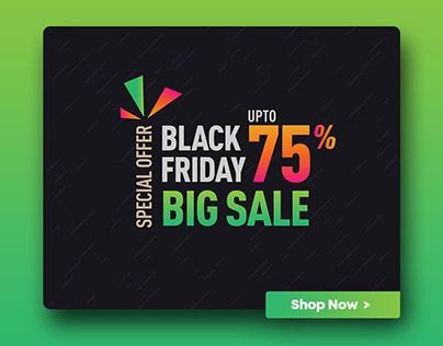 Discount Offer | Black Friday Selling offer Banner