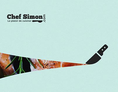 UI Concept Design for Cooking Recipe Website